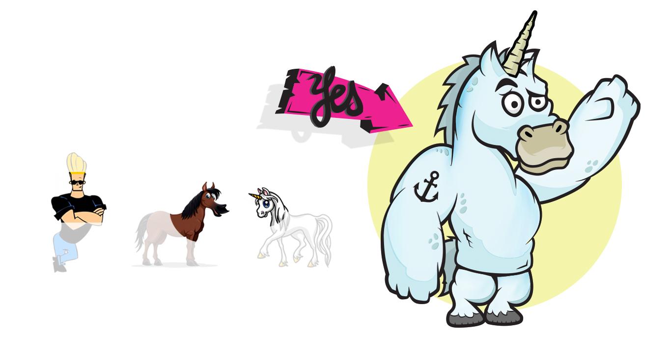 unicorn-jungle-figur